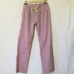 Bottoms Out Red & White Stripe Lounge Pant